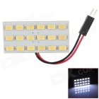 D13010906X T10 + Festoon 5.76W 468lm 18-SMD 5630 LED White Car Dome Light