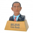 Barack Obama Figure Coin Bank