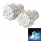 LY235 1156 3.6W 120lm 36-LED White Light Car Steering / Backup / Brake Lamps (2 PCS)