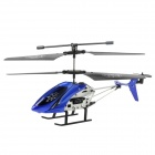 Rechargeable 1100mAh 2-CH IR R/C Helicopter w/ Wings + Remote Controller - Blue