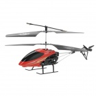 Rechargeable 1100mAh 2-CH IR R / C Helicopter w / Remote Controller + EU Plug - Red