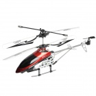 Rechargeable 180mAh 3.5-CH Radio Control Helicopter w/ Transmitter + Memory Card + Reader - Red