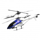 Rechargeable 180mAh 3.5-CH Radio Control Helicopter w/ Transmitter + Memory Card + Reader - Blue
