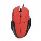 X-LSWAB L9 Wired USB 2.0 800 / 1200 / 2000dpi Optical Game Mouse - Red (150cm-Cable)