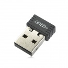EDUP EP-N8531 mini-USB 150Mbps wireless adaptador nano rede - preto