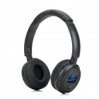 "XF-328 Fashion 1.3"" LCD Stereo Headphone MP3 Player w/ TF Card Slot / FM / USB - Black + Brown"