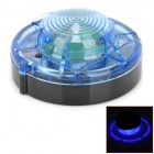 6W 90lm 450~490nm LED Blue Light Car Alarm Lamp (6V)