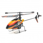 WLtoys V911 4-CH 2.4GHz Radio Control R/C Gyro Helicopter - Orange + Black (Model 1)