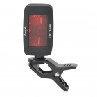 enya ET-01 Mini Digital Clip-On Guitar Tuner - Black (1 x CR2032)