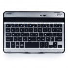 Portable Bluetooth v3.0 Wireless 59-Key Keyboard for Ipad MINI - Black + Silver