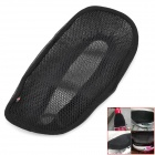 Comfortable Breathable Motorcycle Fiber + Nylon Pad - Black