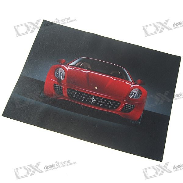 "Ferrari Protective Sticker for upto 15.4"" Laptops (Trimmable)"