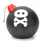 Cool Funny Bomb Shape Coin Bank with Sound and Shake - Black and White and Red (3 x AA) - Gifts Hobbies and Toys