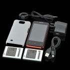 "CUBOT C8 Android Mini Smartphone w/ 4.0"" Capacitive + Dual SIM + Wi-Fi + TV - Black + Red"