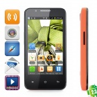 "CUBOT C8 Android Mini Smartphone w / 4,0 ""Kapazitive + Dual SIM + Wi-Fi + TV - Schwarz + Rot"