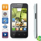 "CUBOT C8 Android 2.3 Smartphone w/ 4.0"" Capacitive + Dual SIM + Wi-Fi + TV - Black + White"