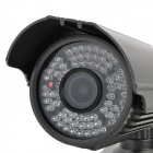 "Longse LIA90DSHE 370KP 1/3"" CCD Water Resistant Surveillance Security Camera w/ 72 IR LED - Black"