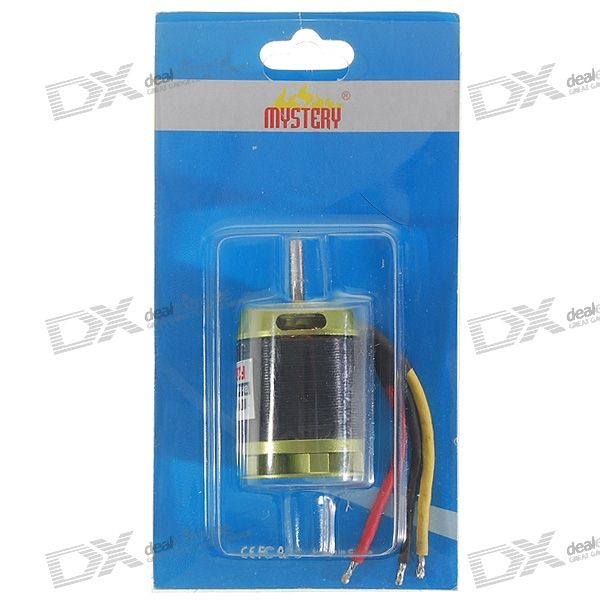 Mystery 26500RPM 3800KV Brushless Motor for Model Airplanes and DIY Projects (11.1V DC)