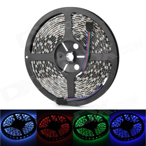 Waterproof 4-Pin 72W 2800lm 300-SMD 5050 LED RGB Car Decoration Light Strip (5m)