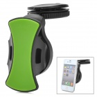 CT - 8510S 360 Degree Swivel Car Mount Holder for Iphone + GALAXY S4 / i9500+ More - Black + Green