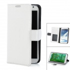 Protective Crocodile Grain PU Leather Case for Samsung Galaxy Note 2 N7100 - White