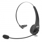 m12 Bluetooth Headphone w/ Microphone / Recording - Black + Silver
