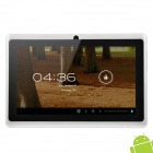 "UBOX A7 7.0"" Android 4.0 Capacitive Touch Screen Tablet PC w/ Wi-Fi / TF - Silver + Black"