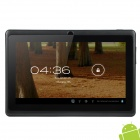 "Ubox A7 7.0 ""Android 4.0 Kapazitive Touchscreen Tablet PC w / Wi-Fi / TF - Schwarz + Grau"