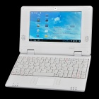 "V702 7.0"" LCD Android 4.0 Netbook w/ Wi-Fi / Camera / LAN / HDMI / SD Slot - White"