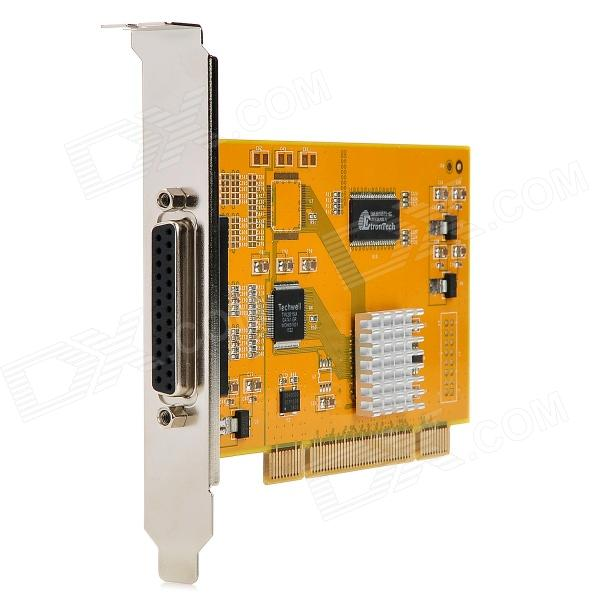 Loosafe LS-4004HC D1 Real-Time 4-CH DVR Video Capture Compression Card - Yellow