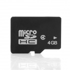 Ourspop DM-12 Micro TF Memory Card - Black (4GB / Class 4)