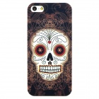 Airwalks Pirates of the Caribbean Skull Style Protective PC Back Case for Iphone 5 - Light Brown