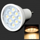 GU10 4W 280lm 3200K 9-LED Warm White Bulb (85~254V)