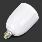 E27 9W 360lm 5000K 36-LED White Light Bulb w/ Bluetooth Speaker - White
