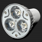 G5.3 3W 210lm 3200K Warm White LED Bulb - Silver + White (220V)