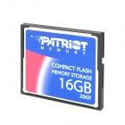 Patriot Compact Flash / CF 266X Memory Card - Blue + Black + Silver (16GB)