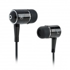 SE08 3.5mm Plug In-Ear Stereo Earphone - Black (125cm-Cable)