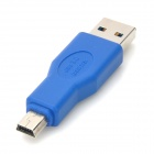 USB3.0 мужчина к мини 10pin B Мужской адаптер для Apple Macbook - Blue