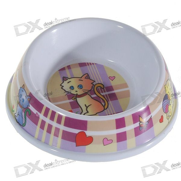 Cartoon Food/Water Bowl for Pets