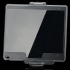BM-12 Compatible Snap-on Hard Glossy Screen Protector Cover for Nikon D800 - Transparent