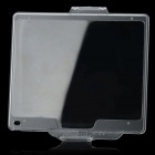 BM-14 Compatible Snap-on Hard Glossy Screen Protector Cover for Nikon D600 - Transparent