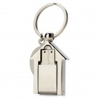B049 Creative Small House Style USB 2.0 Flash Drive - Silver (8GB)
