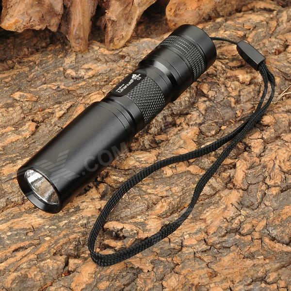 UranusFire C3 200lm 5-Mode White Flashlight w/ Cree XR-E Q5 - Black (1 x AA / 1 x 14500) fandyfire mini portable 3 mode white light flashlight w cree xr e q5 grey 1 x 14500 or 1 x aa