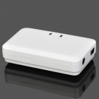 Rechargeable Bluetooth V2.0 Music Receiver for iPhone / iPad / Cell Phone / PC - White