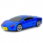"0.8"" LCD Car Style MP3 Player Music Speaker w/ FM / TF / USB - Dark Blue + Black"