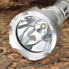 RAYSOON RS-919 900lm 5-Mode White Diving Flashlight w/ Cree XM-L T6 - Silver (1 x 18650)