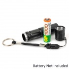 SMALL SUN ZY-552 Mini LED 40lm White Flashlight - Black (1*AA)