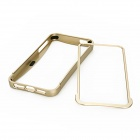 Protective Aluminum Alloy Bumper Frame for Iphone 5 - Light Golden
