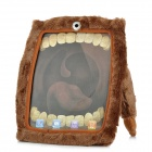Cyclops Style Protective Flannel Cover for iPad 2 / 3 / 4 - Brown