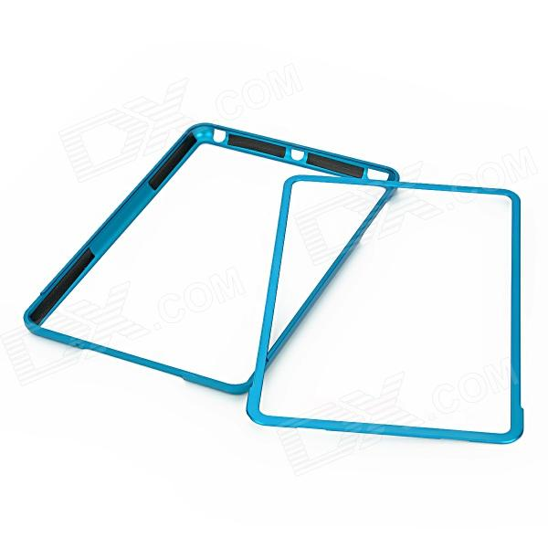 Protective Aluminum Alloy Bumper Frame for Ipad MINI - Blue 16mm bore 100mm stroke aluminum alloy pneumatic mini air cylinder mal16x100 free shipping